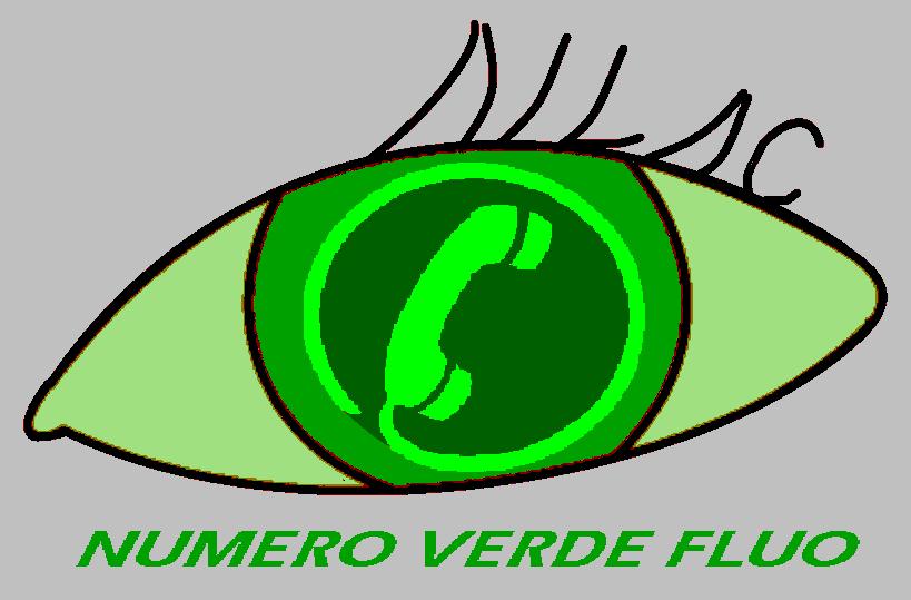 numero verde fluo