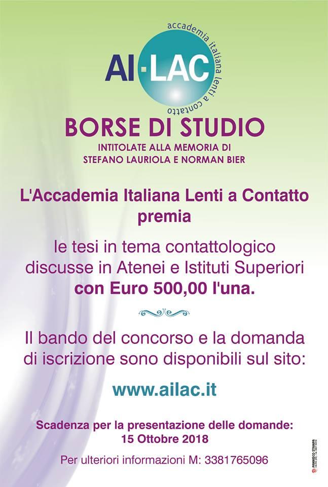 locandina borsa studio AILAC