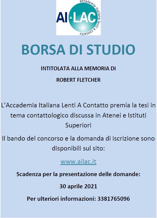 Bando Borsa Di Studio